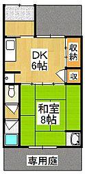 [一戸建] 京都府京都市伏見区深草綿森町 の賃貸【/】の間取り