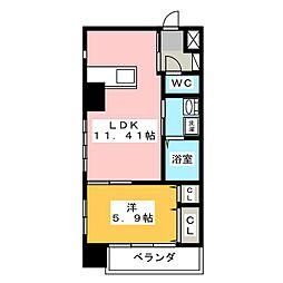 EXE ITAYAMACHI[4階]の間取り
