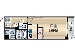 ラ・フォンテ摂津富田[9階]の間取り