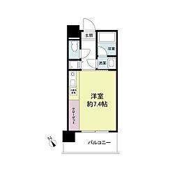 アーデンタワー神戸元町[1206号室]の間取り