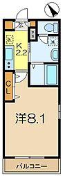 メゾンf[2階]の間取り