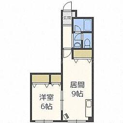 大宏パレス26[1階]の間取り