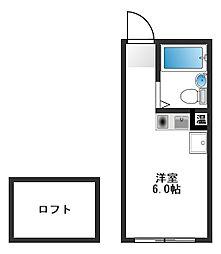 ピア江古田[1階]の間取り