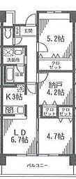 アルビオ北新横浜[303号室号室]の間取り