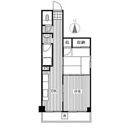 みなとマンション[3階]の間取り