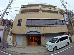 兵庫県川西市長尾町の賃貸マンションの外観