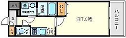エスリード北大阪レジデンス[6階]の間取り