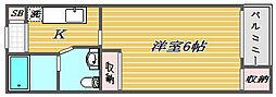 スコレータムラマI[2階]の間取り
