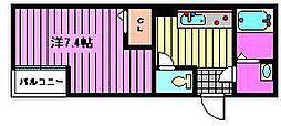 アレーゼ東浦和[3階]の間取り