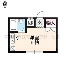SKBマンション[205号室]の間取り