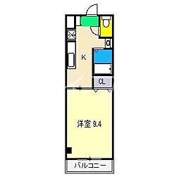 メゾンルノアール[4階]の間取り