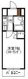 瀬川ビル[701号室]の間取り