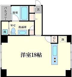 フォルム江戸堀[2階]の間取り