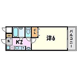 ステラハウス12[2階]の間取り