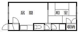 メゾン916[10号室]の間取り