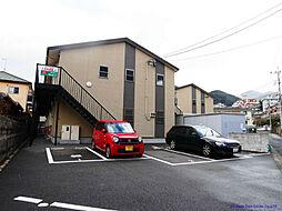 MOON赤坂 B棟[2階]の外観