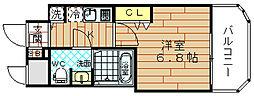 レグゼスタ福島2[5階]の間取り