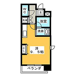 MINA葵[7階]の間取り