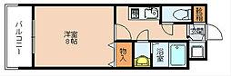 エンクレスト福岡[2階]の間取り