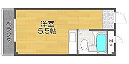 カルム加賀屋[2階]の間取り