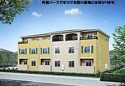 愛知県名古屋市天白区植田山3丁目の賃貸アパートの外観
