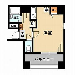 東京都墨田区石原3丁目の賃貸マンションの間取り