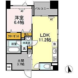 (仮)高島平プロジェクト[203号室]の間取り