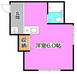ラピスハウス[1階]の間取り