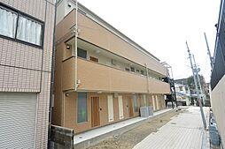 大阪府枚方市宮之阪1丁目の賃貸アパートの外観