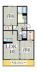 第7シーダーハウス[3階]の間取り