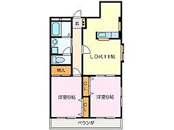 タプローコート[1階]の間取り