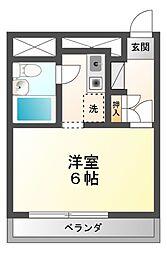 ALECX五井[2階]の間取り
