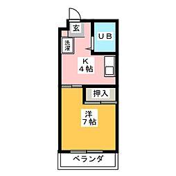 サンテラス瑞穂[2階]の間取り