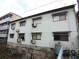 兵庫県神戸市須磨区妙法寺谷野の賃貸アパートの外観