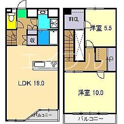 EXT B棟[3階]の間取り