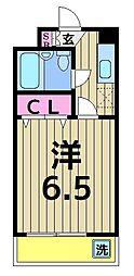 エレガンス綾瀬4[113号室]の間取り