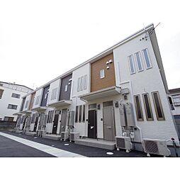 奈良県大和高田市西三倉堂の賃貸アパートの外観