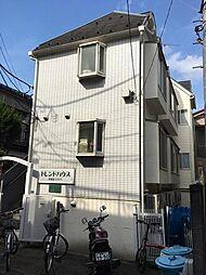 東京都新宿区北新宿2丁目の賃貸アパートの外観