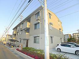 埼玉県吉川市美南4丁目の賃貸アパートの外観