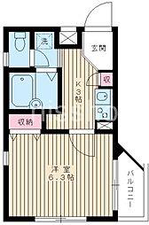 1426−Sanko CourtIII[101号室]の間取り