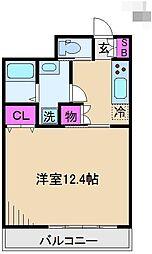第六田嶋ビル[3階]の間取り