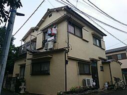 東京都文京区向丘2丁目の賃貸アパートの外観