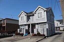 愛知県あま市木田加瀬の賃貸アパートの外観