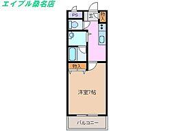 studio21[1階]の間取り