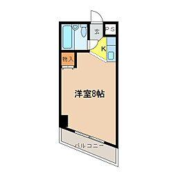 パウゼ河内長野駅前[3階]の間取り