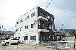 長野県長野市川中島町四ツ屋の賃貸アパートの外観