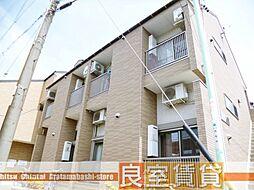 愛知県名古屋市南区西桜町の賃貸アパートの外観