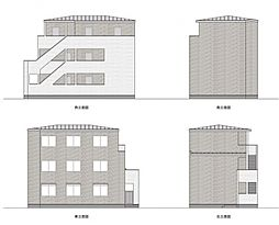 マツドシンデンハッピーハウス[201号室号室]の外観