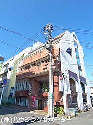 東京都八王子市初沢町の賃貸マンションの外観