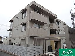 滋賀県大津市弥生町の賃貸アパートの外観